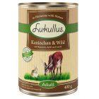 Lukullus Adult 1 x 400 g Alimento umido per cani