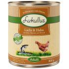 Lukullus Adulte, saumon & poulet
