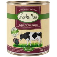 Lukullus Beef & Turkey - Grain-Free