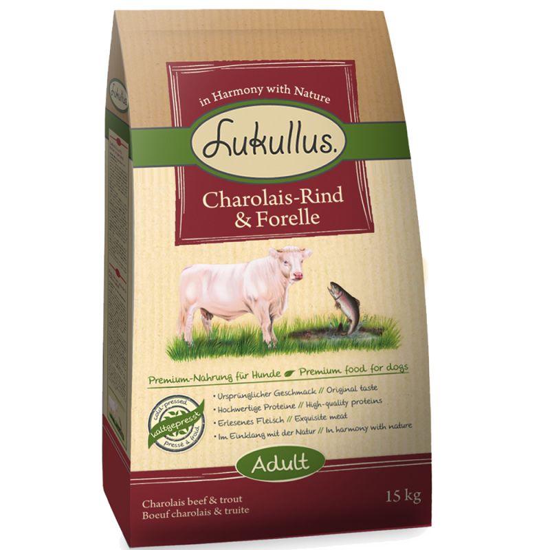 Lukullus Charolais-Beef & Trout