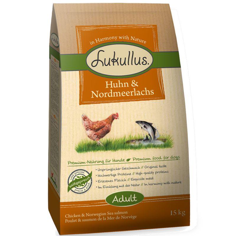 Lukullus Chicken & Northern Wild Salmon
