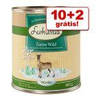 Lukullus comida húmida 12 x 800 g em promoção: 10 + 2 grátis!