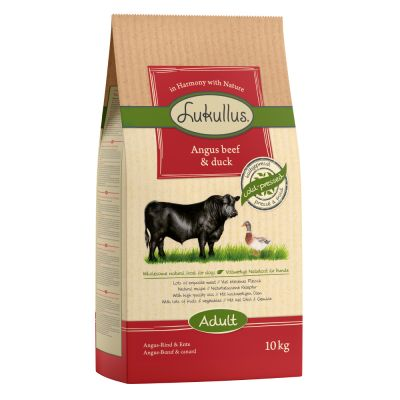 Lukullus Dog Food Angus Beef & Duck