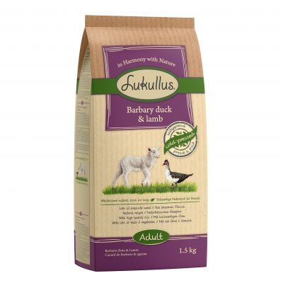 Lukullus Dog Food Barbary Duck & Lamb