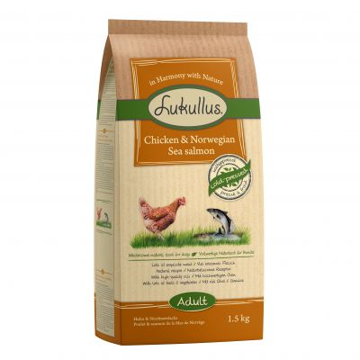Lukullus Dog Food Chicken & Norwegian Sea Salmon