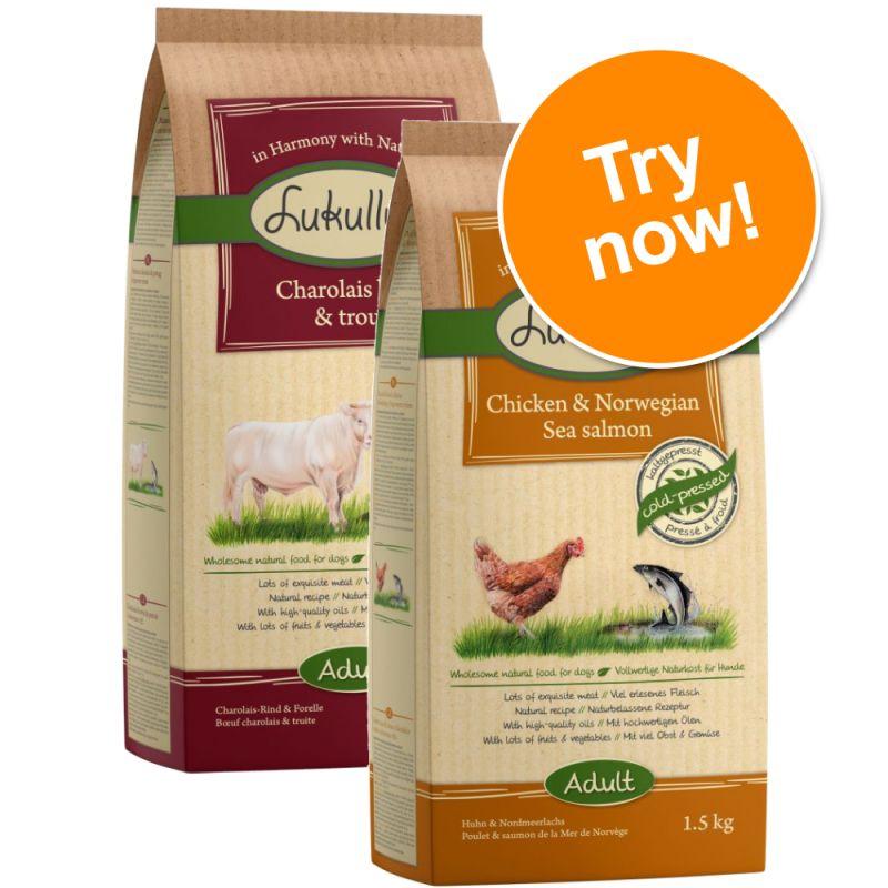 Lukullus Dog Food Mixed Trial Packs