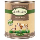 Lukullus Grain-Free Πάπια & Μοσχάρι Κονσέρβα