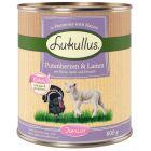 Lukullus Junior cœurs de dinde, agneau pour chiot