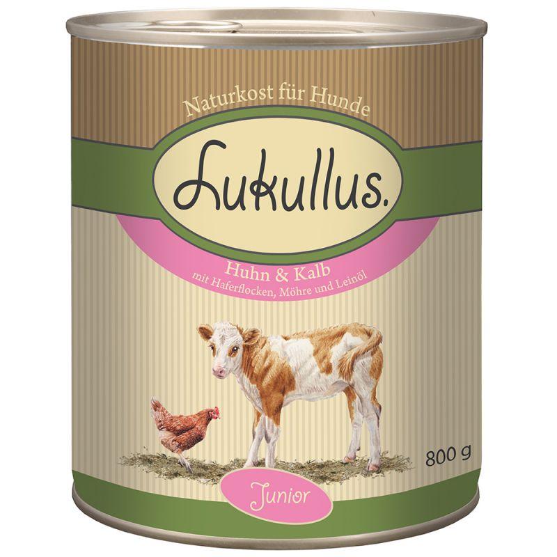 Lukullus Junior Kyckling & kalv