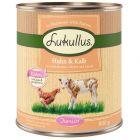 Lukullus Junior poulet, veau pour chiot