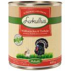 Lukullus lapin de garenne, dinde pour chien