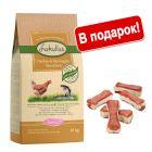 Lukullus сухой корм 10 кг + Lukullus жевательные косточки 12 x 5 см в подарок!