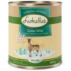 Lukullus menú de invierno con caza