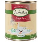Lukullus menú de invierno con ganso