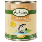 Lukullus Menu d'été saumon pour chien