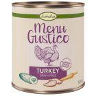 Lukullus Menu Gustico dinde, patates douces, courgettes, carottes pour chien