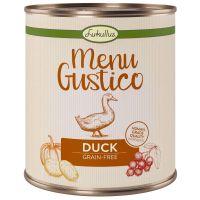 Lukullus Menu Gustico - Eend met Wortel, Cranberry's en Rozemarijn Hondenvoer