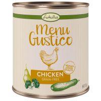Lukullus Menu Gustico - Kip met Broccoli, Courgette & Peer