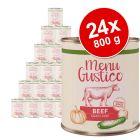 Lukullus Menu Gustico - Senza cereali 24 x 800 g
