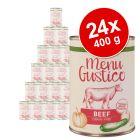 """Lukullus """"Menu Gustico"""" -säästöpakkaus 24 x 400 g"""