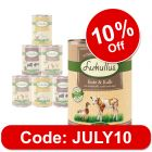 Lukullus Mixed Trial Pack Grain-Free 6 x 400g / 800g