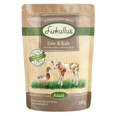 Lukullus Natural Grain-free Pouches 6 x 300g