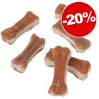 Lukullus, os à mâcher 12 x 5 cm pour chien : 20 % de remise !