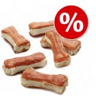 Lukullus ossos recheados para cães - Pack económico em promoção!