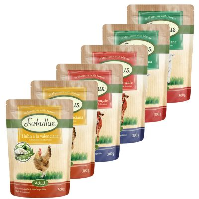 Lukullus Pouches Saver Pack 24 x 300g