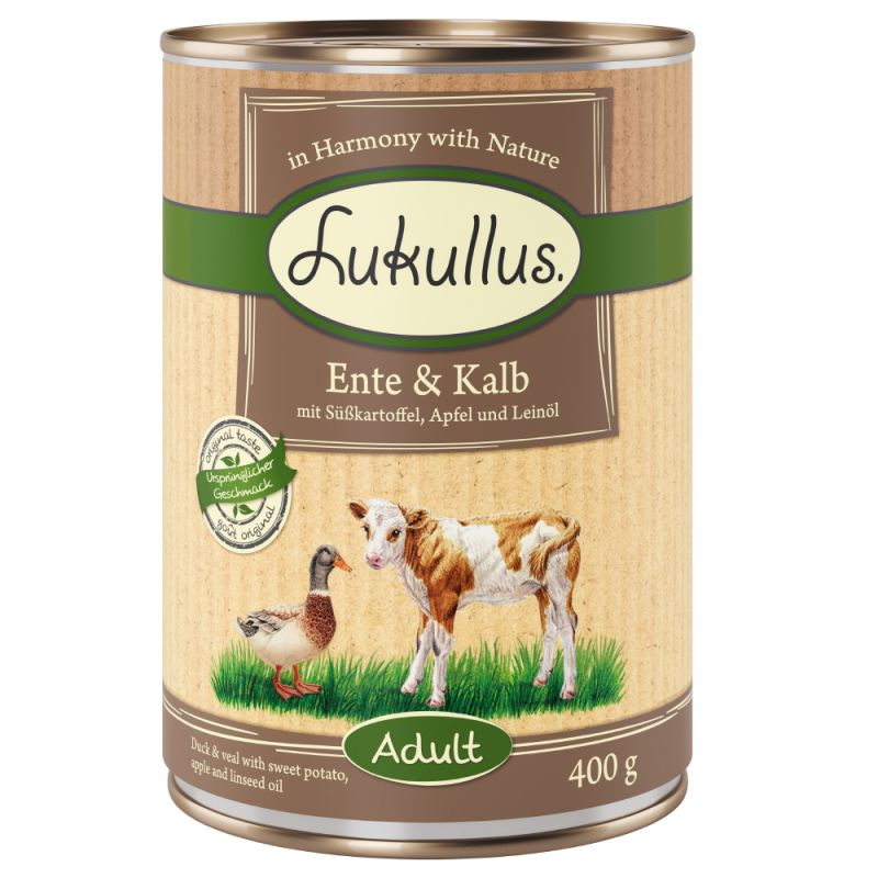Lukullus senza cereali 6 x 400 g