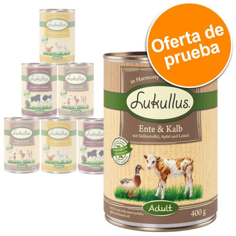 Lukullus sin cereales - Pack de prueba