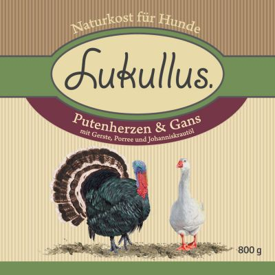 Lukullus Turkey Hearts & Goose