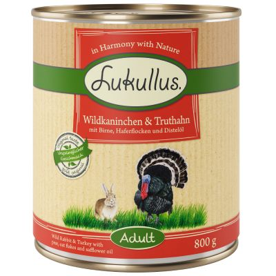 Lukullus Wild Rabbit & Turkey