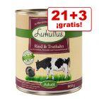 Lukullus 24 x 800 g comida húmeda en oferta: 21 + 3 ¡gratis!