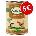 Lukullus 6 x 400 g comida húmida por apenas 5 €!