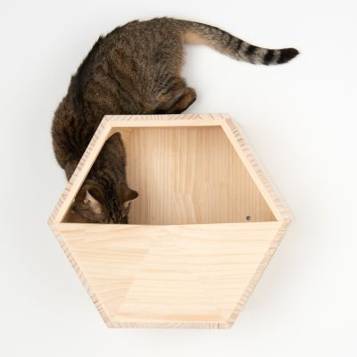 Lulu Wall Mounted Cat Den