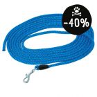Lunghina per cani Pawz & Pepper intrecciata, blu