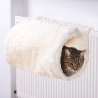 Luxus Radiator Cat Bed - Cream