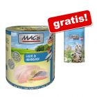 MAC's 6 x 800 g pour chat + friandises MAC's Shakery Anti-Hairball offertes !