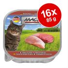 MAC's Cat kattfoder portionsform 16 x 85 g