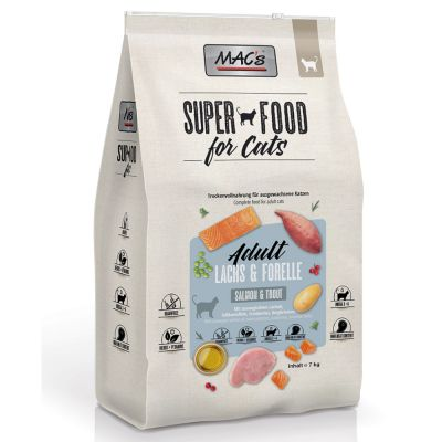 MAC's Superfood for Cats Adult, łosoś i pstrąg