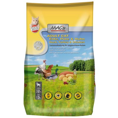 MAC's Cat Adult Ente, Pute & Huhn