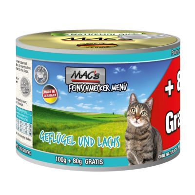 MAC's Cat Feinschmecker 6 x 180 g