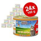 MAC´s Cat Gourmet -säästöpakkaus 24 x 180 g