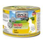 MAC's Mono Sensitive 6 x 200 g en latas para gatos