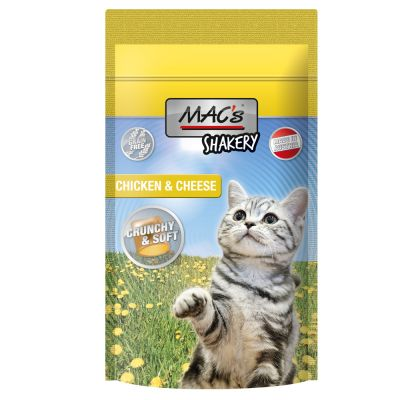 MAC's Shakery Snacks Friandises au fromage pour chat