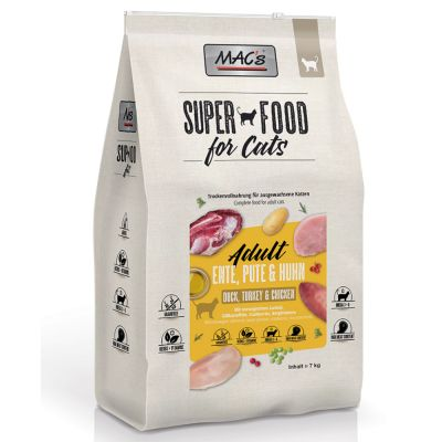 MAC's Superfood for Cats Adult, kaczka, indyk, kurczak