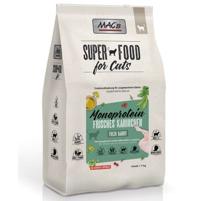 MAC's Superfood for Cats Adult Monoprotein Coniglio