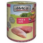 MAC's 6 x 400 g