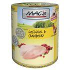 MAC's 6 x 400 g en latas para gatos